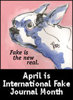 April was Int'l Fake Journal Month