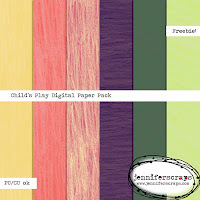 http://www.jenniferscraps.com/2014/09/11/childs-play-freebie-paper-pack-of-the-day/