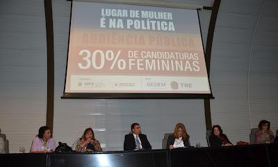 Partidos poderão ser punidos se descumprirem espaço feminino