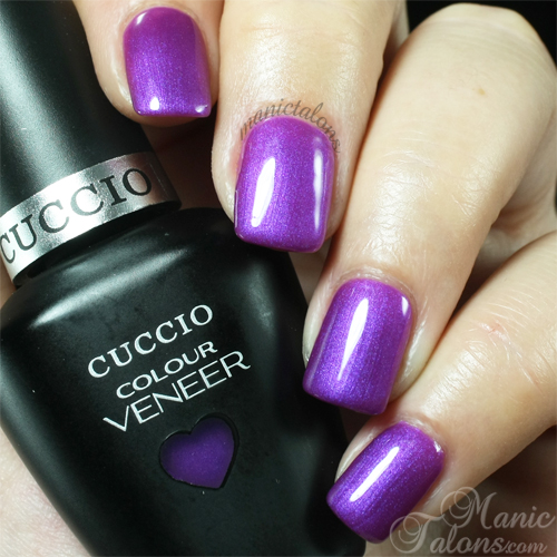 Cuccio Grape to See You Swatch
