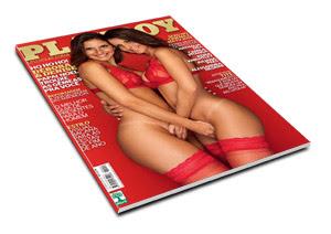Playboy Débora e Denise Tubino   Dezembro de 2012