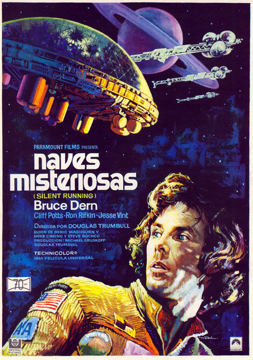 space1970 silent running 1972 theatrical posters