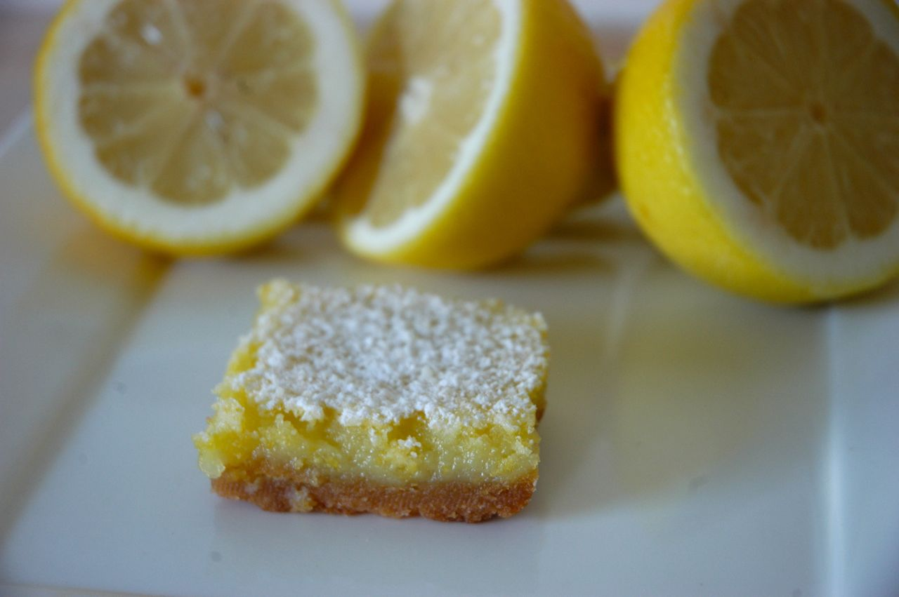 Goddess of Baking: Whole Lemon Bars