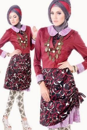 Gambar model baju muslimah cantik