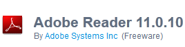 Download Adobe Reader 11.0.10 Offline Installer