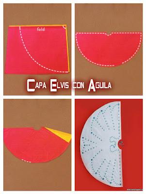 capa disfraz de Elvia