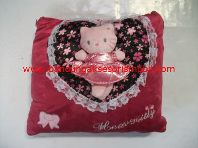 Bantal Peluk dan Selimut Hello Kitty in Love