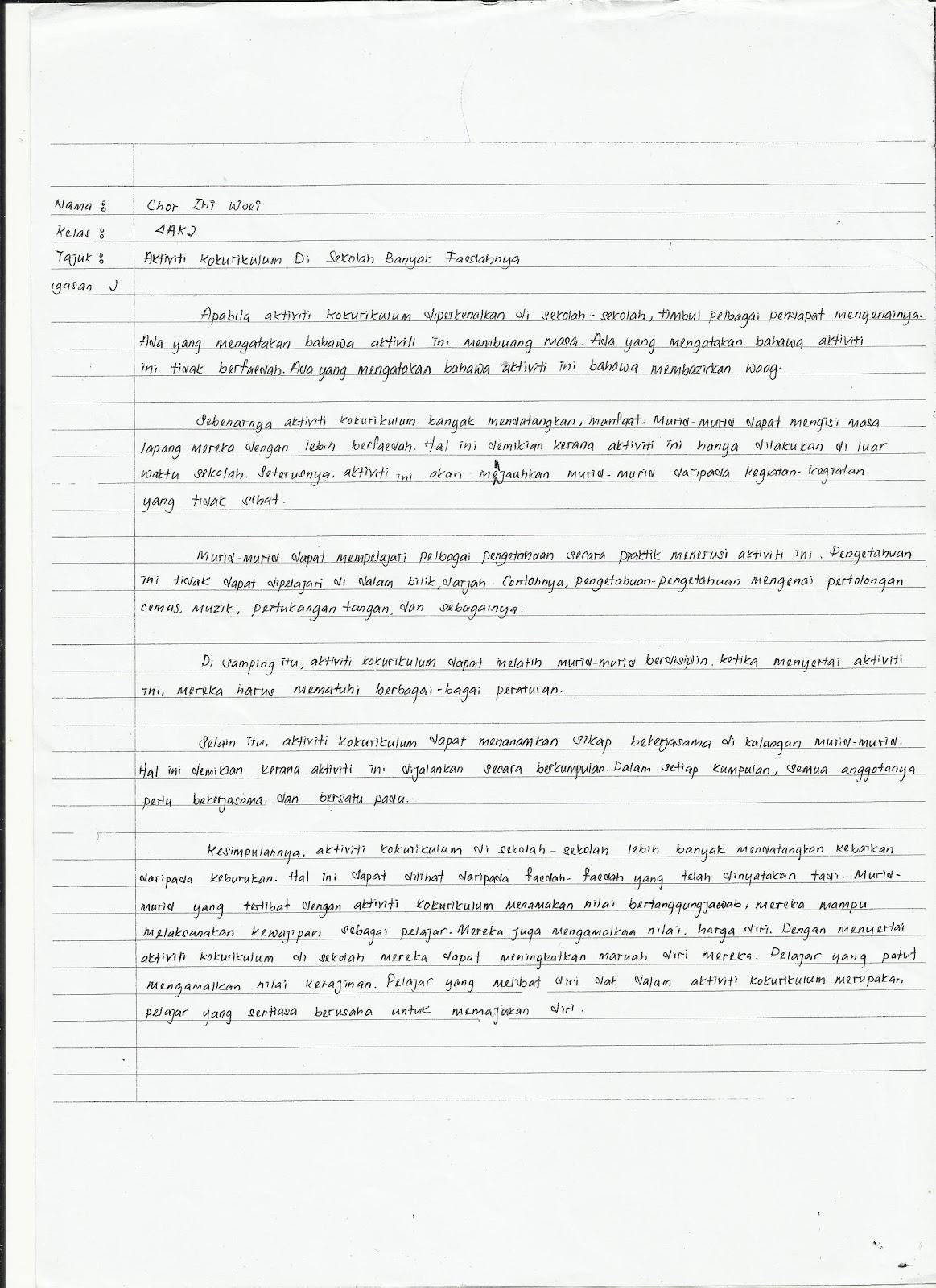 CONTOH-CONTOH KARANGAN – Scribd