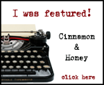 I was featured on Cinnamon & Honey!