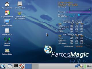 Harga Parted Magic Linux - Digunakan Untuk Manajemen Hardisk