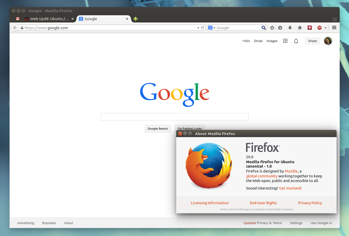 Firefox 29 is completely different