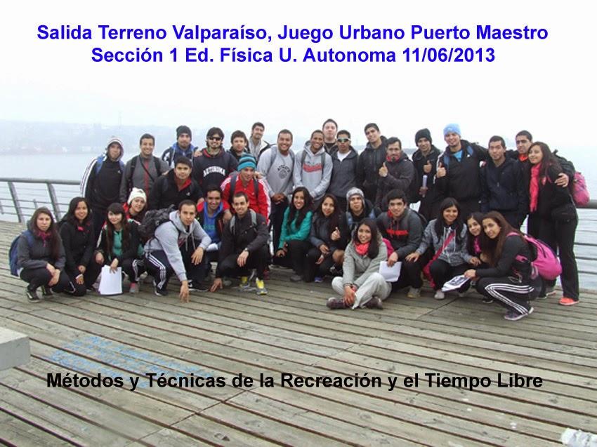 Metodos y Tecnicas de la Recreación  y el Deporte  Aventura - Educ. Física Universidad Autonoma