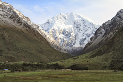 View of Salkantay Peak (20,574 ft)