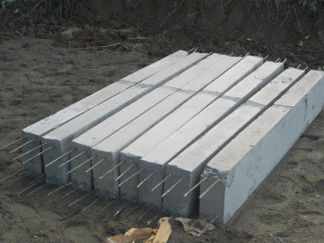 stok sloof beton precast