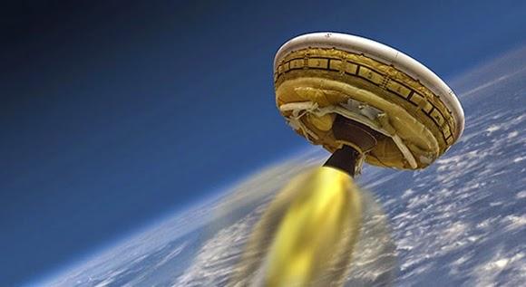 NASA Berhasil Uji Coba 'Piring Terbang' untuk ke Planet Mars