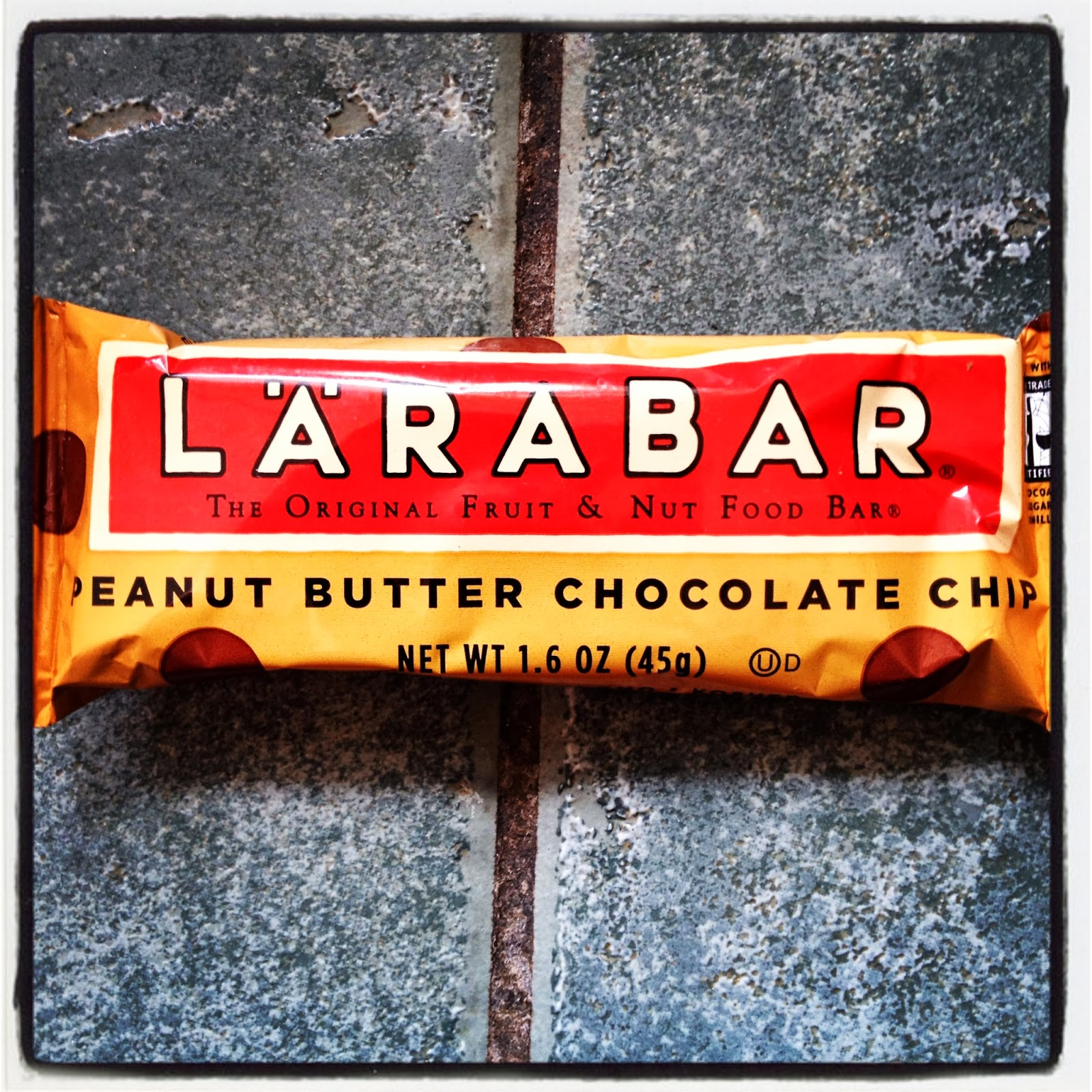 Vegan Snack Peanut Butter Chocolate Chip Larabar Kosher Gluten Free