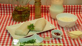 Receta de bacalao a la crema picante