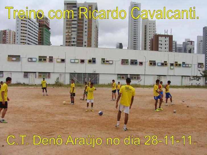 Treino de Futebol com Ricardo Cavalcanti