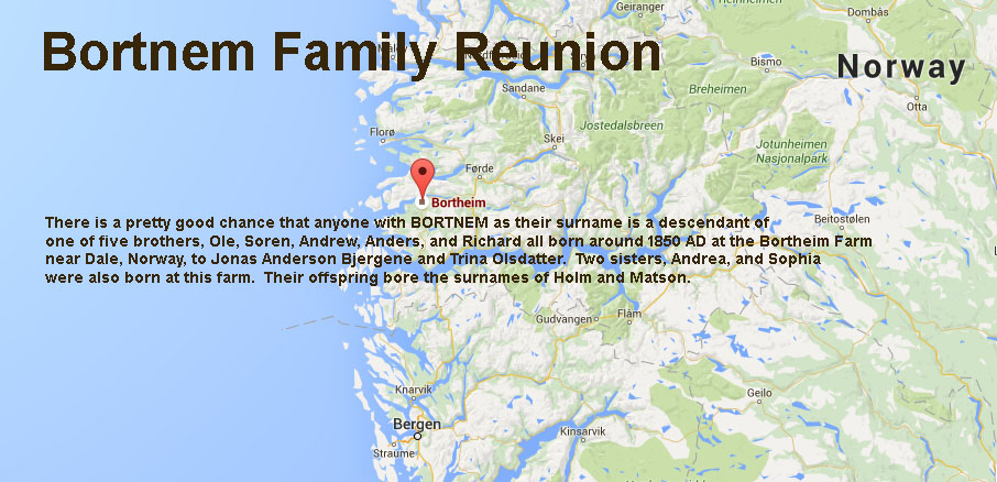 Bortnem Family Reunion