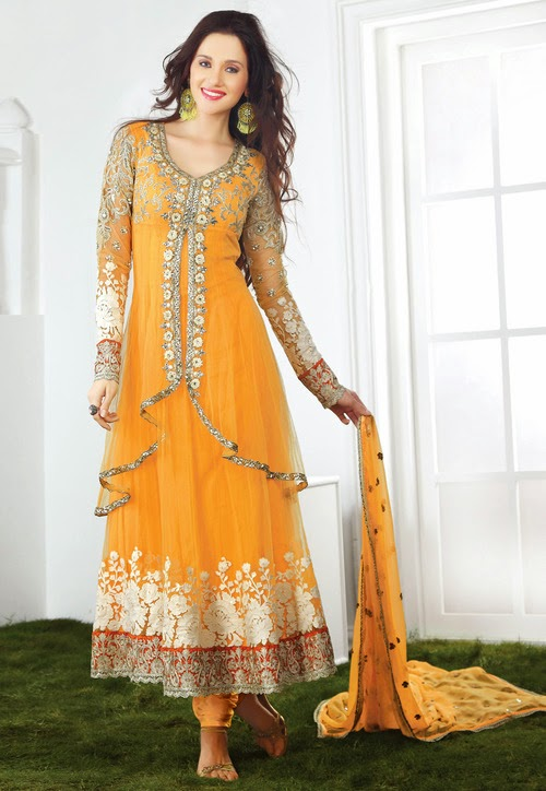 Anarkali suits for indian festival
