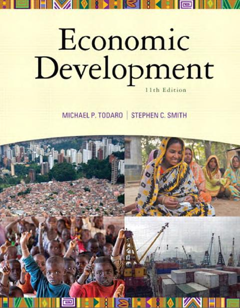 Michael Todaro Economic Development Book Pdf Download Free