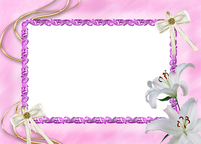 Marco de Fotos con Flores