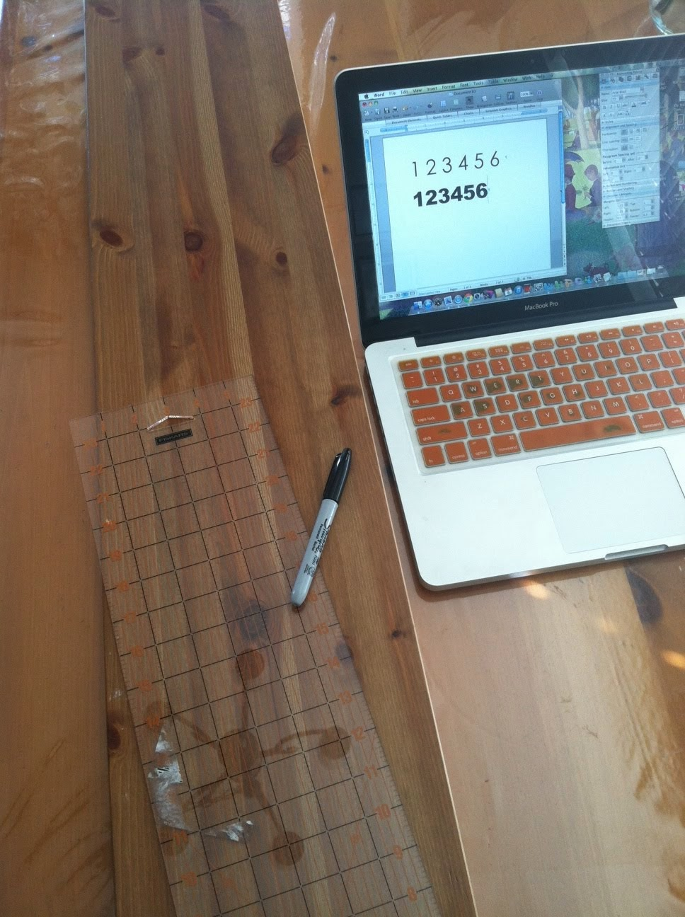 Rebeccas round up diy wood ruler growth chart a pottery barn photo1 779114g geenschuldenfo Choice Image