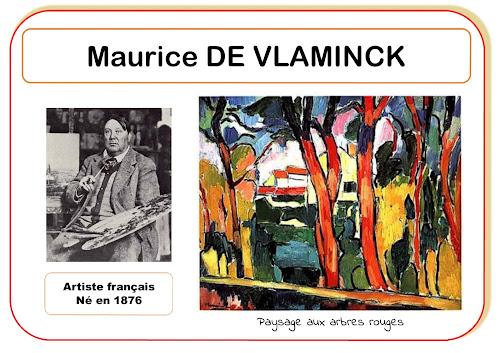 Maurice de Vlaminck - Portrait d'artiste en maternelle