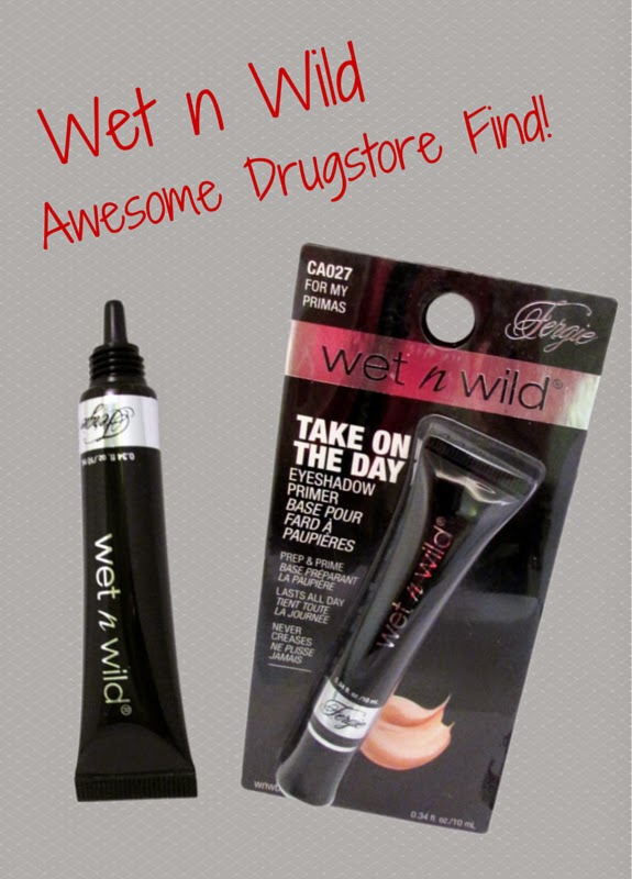 This drugstore eyeshadow primer is worth a try: Fergie Wet N' Wild Take On The Day Eyeshadow Primer Makeup