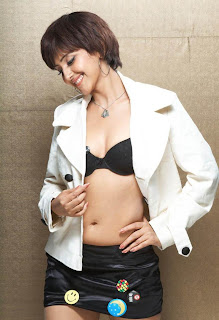 Archana Sharma navel n black bra