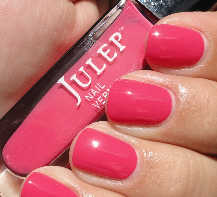 KellieGonzo: Julep Summer Collection: Swatches & Review