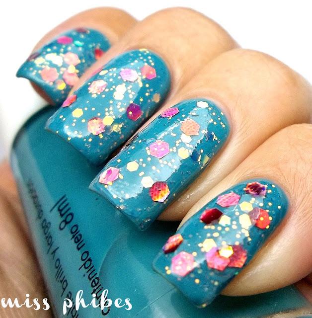esmaltes glitters chinos
