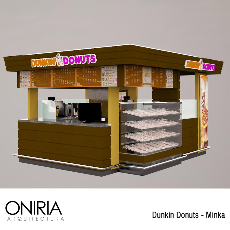 Oniria dise os previos dunkin donuts minka for Arquitectura y diseno stands 8 pdf