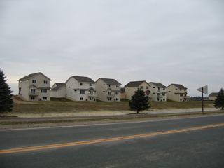 photo of sprawled subdivision