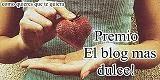 "Premio ""blog mas dulce"""