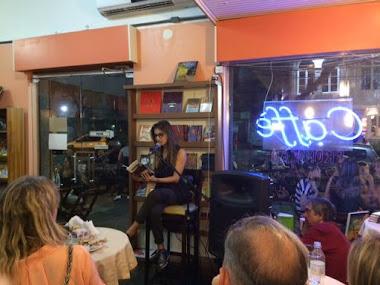 Atriz Mariana Rosa e a leitura dramatizada da Palavra Fora de Si