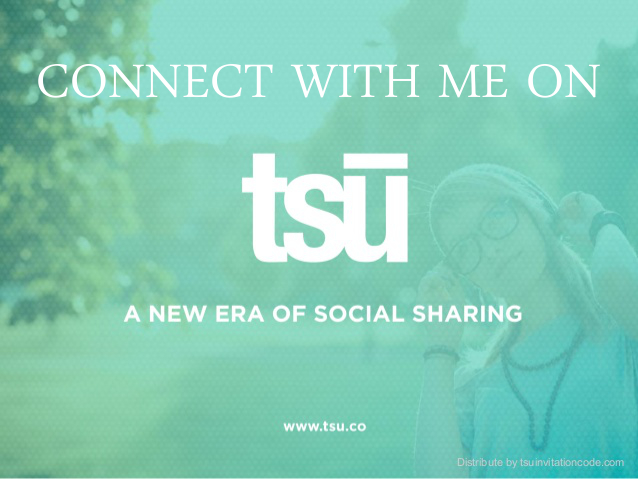 Join me on tsu