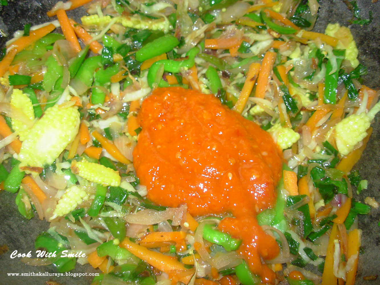 how to prepare schezwan fried rice