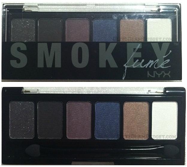 Affordable Smokey Shadow Palette