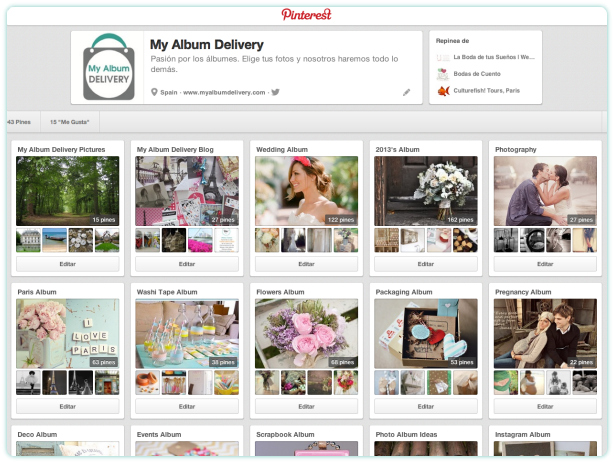 My Album Delivery Blog en Pinterest