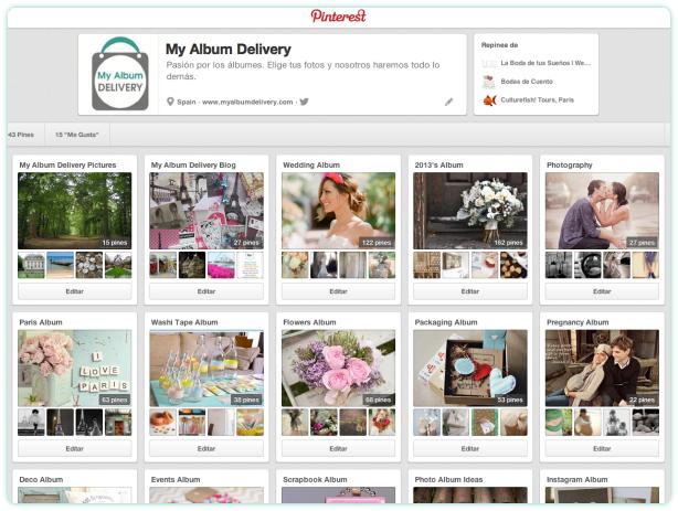 My Album Delivery Blog en Pinterest