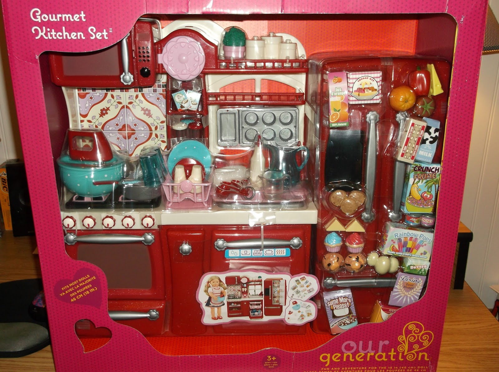 Missys product reviews our generation jenny and the for Kitchen set doll