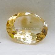 Batu Permata Yellow Citrine - SP948