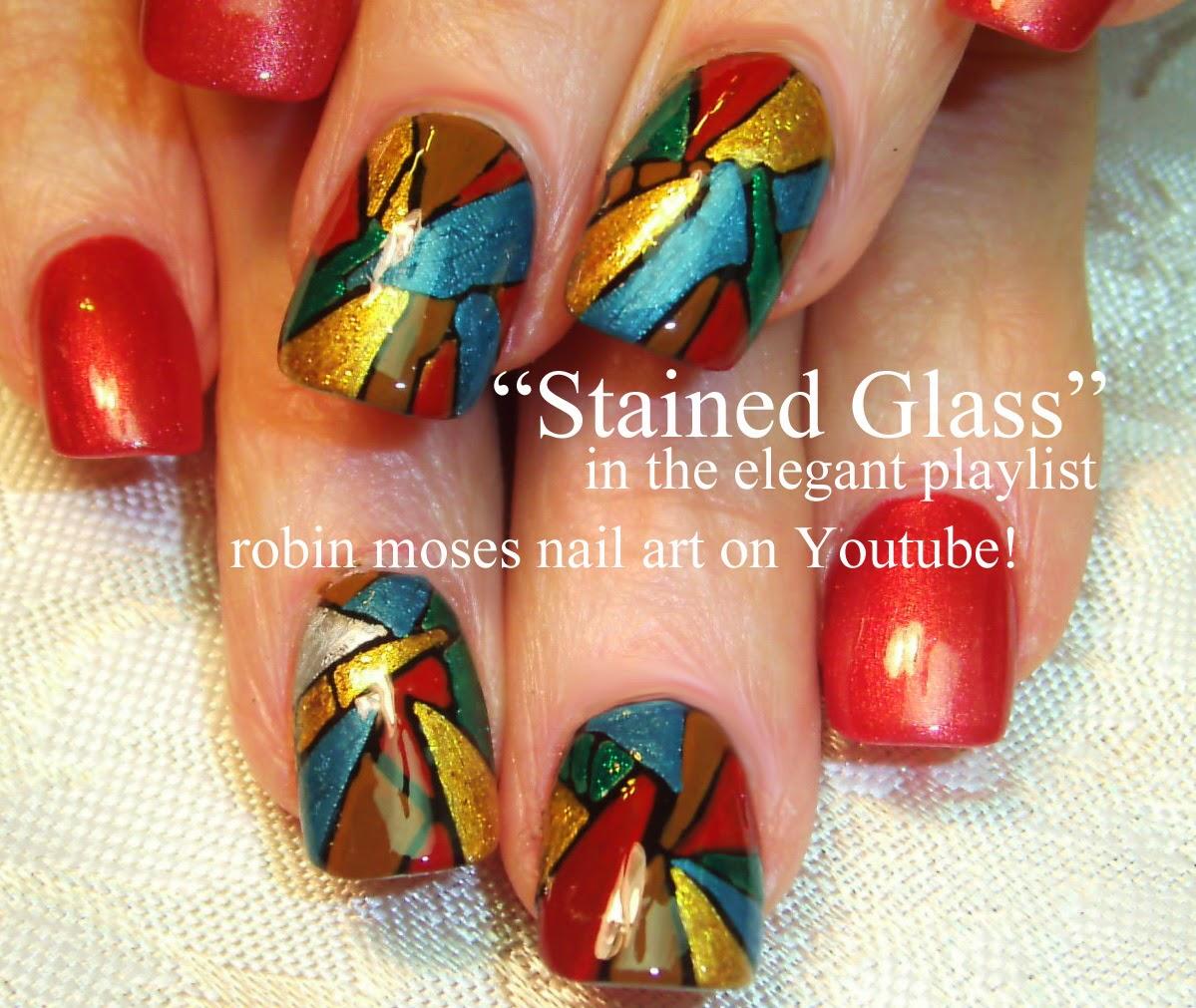 "Simple Elegant Fall Nail Designs: Robin Moses Nail Art: ""Fall Nail Art"" ""elegant Fall Nails"