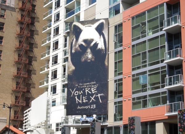 You're Next movie billboard