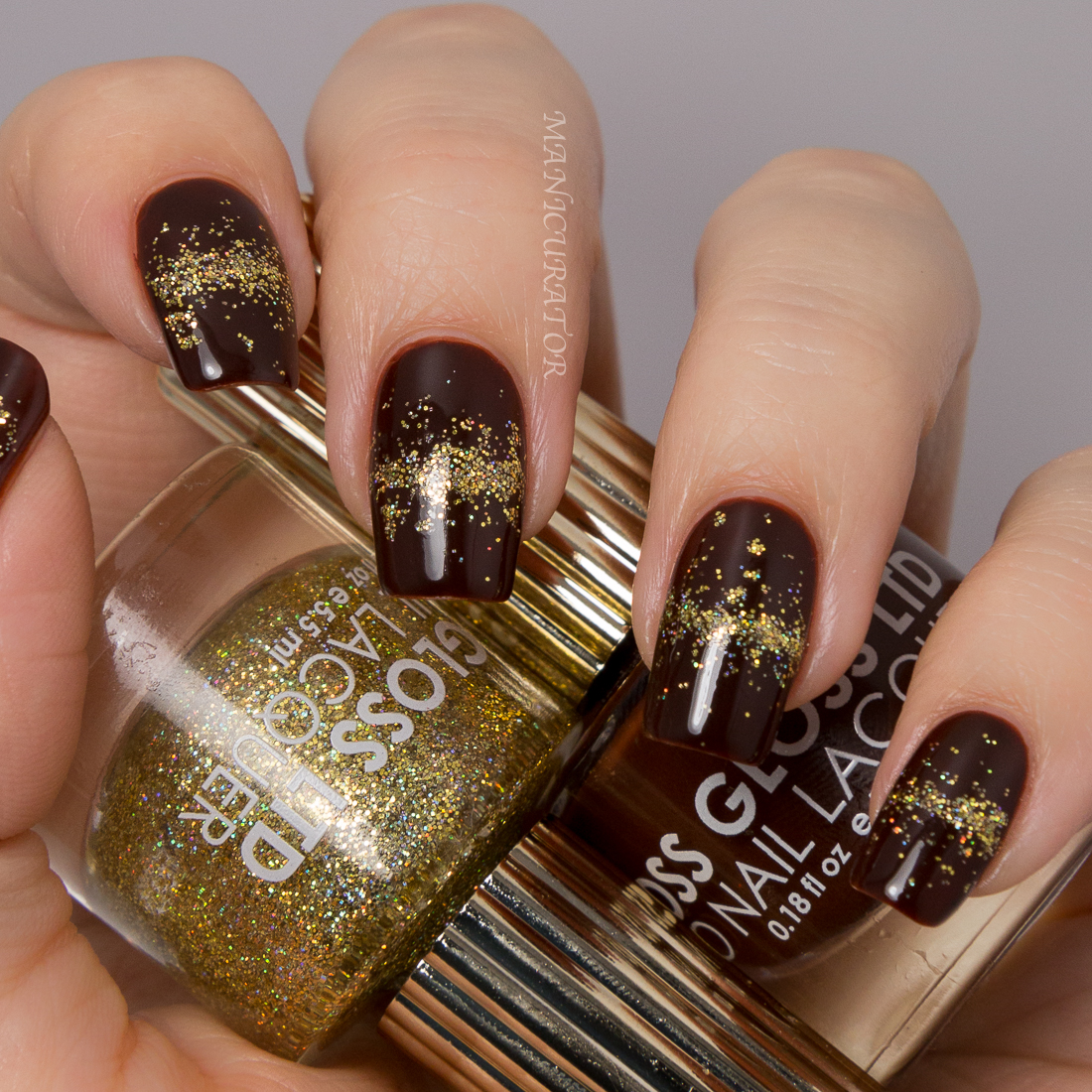 Floss-Gloss-Stun-Blood, Suede and Tears-gradient-Nail-Art