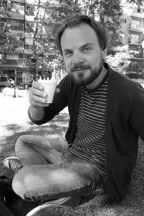Andreas i parken