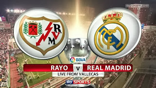 La Liga Rayo Vallecano vs Real Madrid 3 11 2013