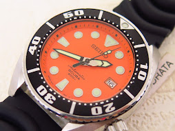 SEIKO DIVER SUMO ORANGE DIAL - SEIKO SBDC005 - AUTOMATIC 6R15 - FULLSET BOX AND PAPERS