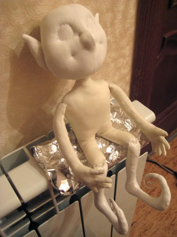 грунтовка куклы